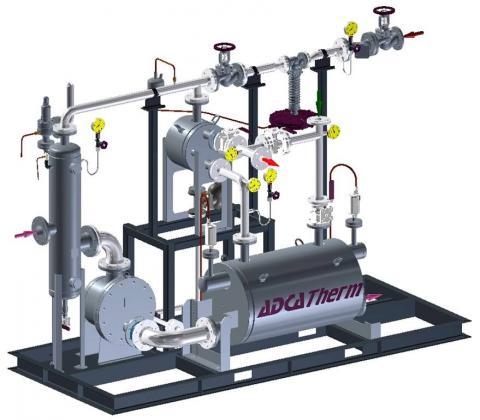 Unidad compacta de recuperacion de condensado FRECO
