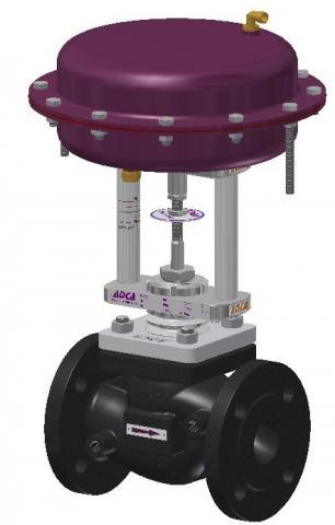 Valvula neumatica paso directo DN15-100 PN16 PV25G