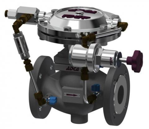 Valvula reductora de presion DN32-100 RP4