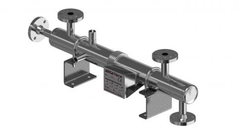 General intercambiador de carcasa y tubo para vapor STHS