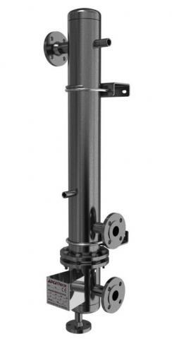 Intercambiador vertical de carcas y tubos STV