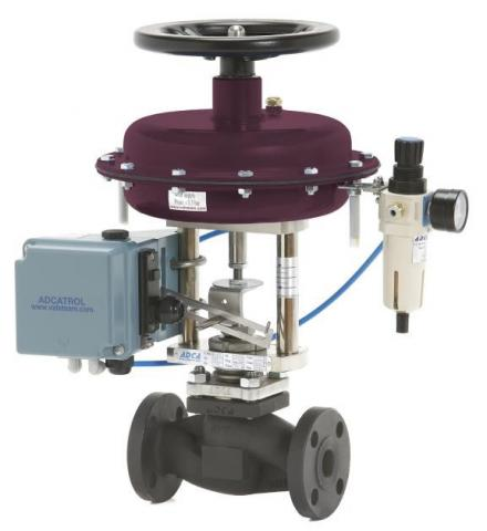 Valvula de control de 2 vias DN15-150 ANSI PV25