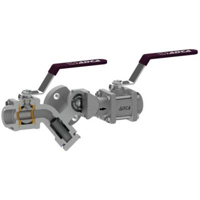 Compact trapping station CTS4U  (For use with universal swivel connector steam traps)