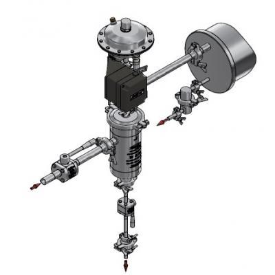Diseño montaje valvula de control V926H
