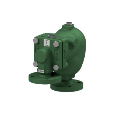 Eliminador de aire y gases para redes de liquidos acero al carbono PN40 DN25X15 y DN25X25 AE35.2