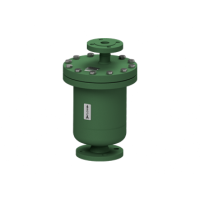 Eliminador de aire y gases para redes de liquidos acero al carbono PN40 DN40X25 y DN50X25 AE37.2