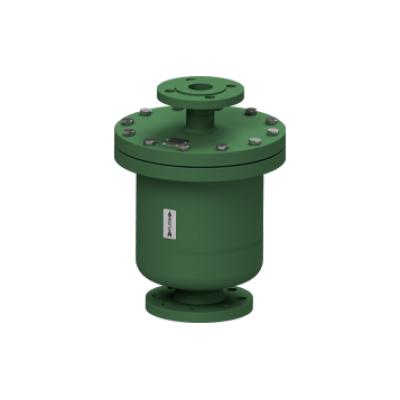 Eliminador de aire y gases para redes de liquidos acero al carbono PN40 DN65X40 DN80X40 AE39.2