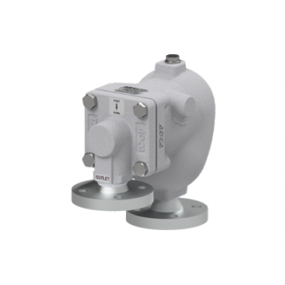 Eliminador de aire y gases para redes de liquidos acero al carbono PN40 DN25X15 y DN25X25 AE45.2