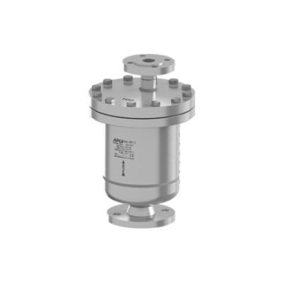 Eliminador de aire y gases para redes de liquidos acero inoxidable PN40 DN40X25 y DN50X25 AE47.2