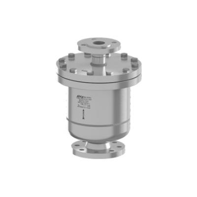 Eliminador de aire y gases para redes de liquidos acero inoxidable PN40 DN65X40 DN80X40 AE49.2