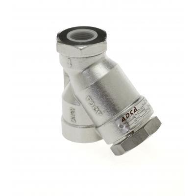 Filtro tipo y roscado acero DN15-50 PN40 IS140