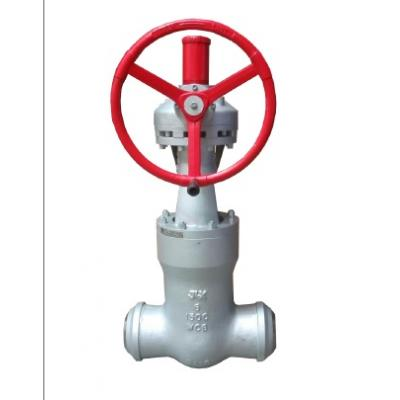 Gate valve type pressure seal class 1500 lbs