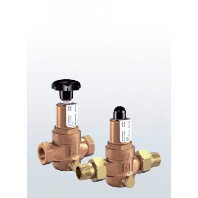630 Overflow and pressure control valves made of gunmetal, straightway form with threaded connections –externally adjustable–