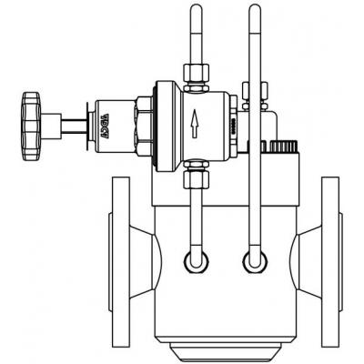Pressure reducing and pressure sustaining valve options