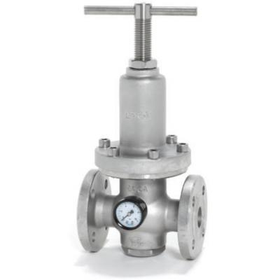 Diaphragm sensing pressure reducing valve PRV30SS DN 25 – DN 32
