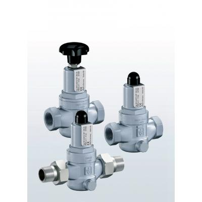 481 Pressure reducing valves made of stainless steel with threaded connections