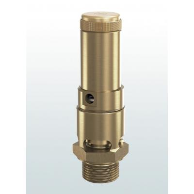 810 Safety valves made of brass atmospheric discharge with threaded connections