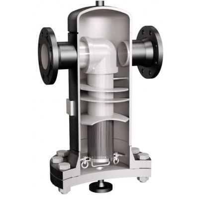 Separador de gotas para vapor con filtro incorporado PN16-PN40 DN15-100 S251F