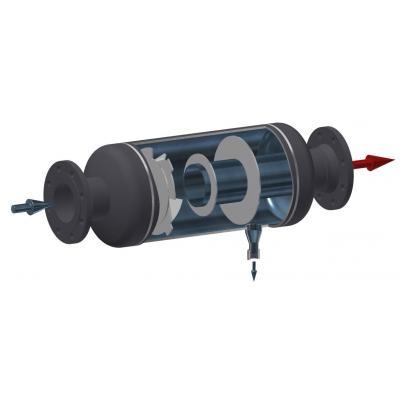 Separador de gotas para vapor horizontal PN16-40 PN15-100 SH25S