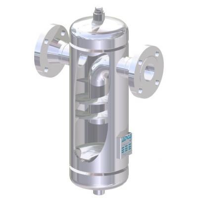 Separador de gotas para vapor acero inoxidable PN16-PN40 DN15-300 S25SS