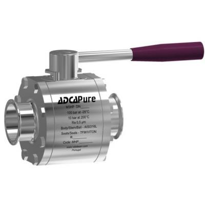 High purity ball valves M3HP full bore (DN 65 – 100 DIN)