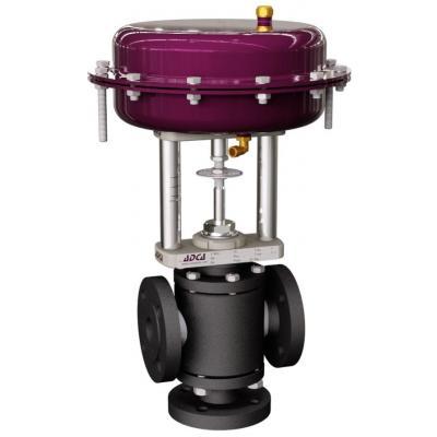 Pneumatic control valves V403  (V403 globe valves series with linear actuators PA or EL series)