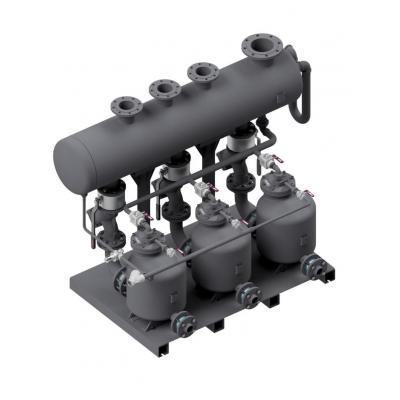 Unidad compacta de impulsión de condensado POPS-KT Triplex