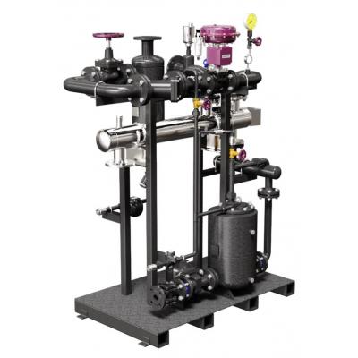Unidad compacta de produccion de agua caliente