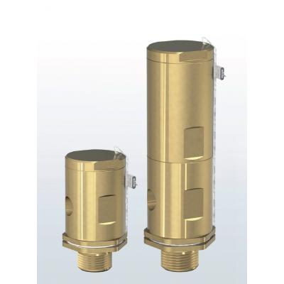 Vacuum breaker brass 1960-1965