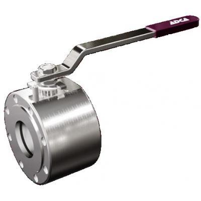 Valvula de bola para vapor tipo wafer DN15-50 PN16 MWS1