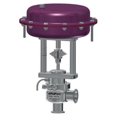 Válvula de control higiénica DN 15-100 ASME BPE PV926H
