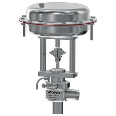 Valvula de control higienica para vapor limpio y puro DN15-100 PV928