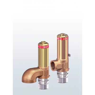 Valvulas de rebose criogénica en bronce paso angular conexiones roscadas 2580