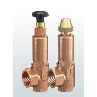 Valvula de rebose y control de presión en bronce paso en angulo conexiones roscadas y ajuste externo 853