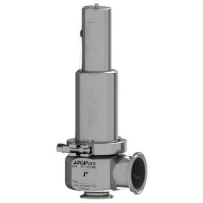 Válvula de seguridad aséptica ASME BPE DIN ISO SRV6