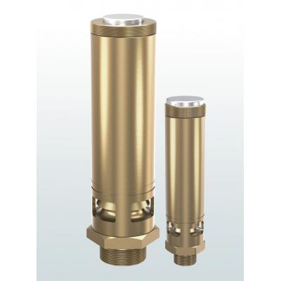 Valvula de seguridad laton de descarga atmosférica conexiones roscadas 812