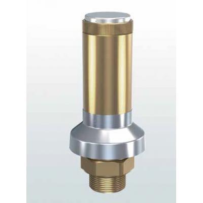 Valvula de seguridad laton de descarga atmosférica conexiones roscadas 813