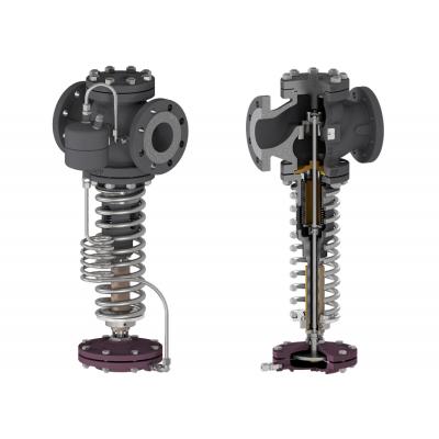 Valvula mantenedora de presion autoaccionada DN15-100 EN PN16-40 PS46