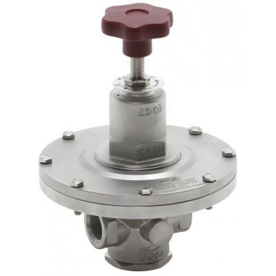 Valvula reductora de presion inoxidable alta precision DN15-20 PN16 PRV300SS