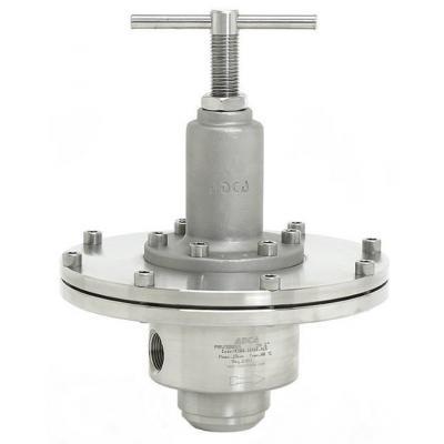 Valvula reductora de presion inoxidable alta precision DN25-32 PN16 PRV300SS