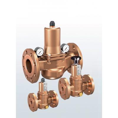 682 Válvulas reductoras de presión de bronce con conexiones bridadas