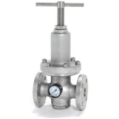 Valvula reductora de presion inoxidable DN25-32 PN63 PRV30SS