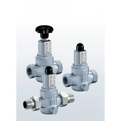 481 Valvulas reductoras de presión en acero inoxidable con conexiones roscadas