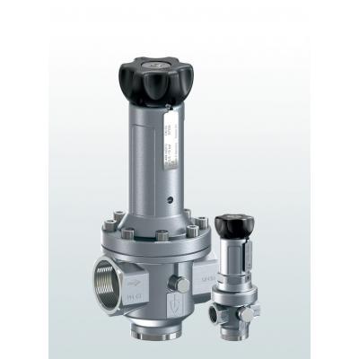 484 Valvulas reductoras de presión en acero inoxidable con conexiones roscadas