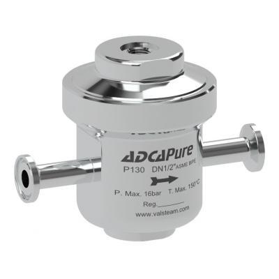 Válvula sanitaria reductora de presión DN08-25 ASME BPE DIN ISO P130A