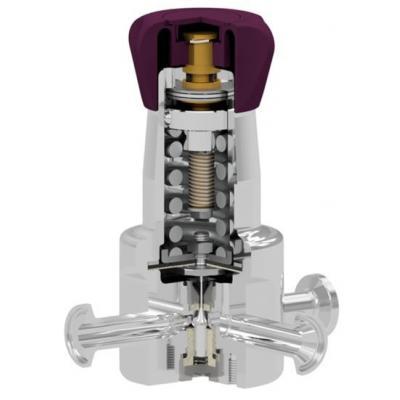 Valvula reductora de presion sanitaria DN15-20 ASME-BPE DIN-ISO P130l