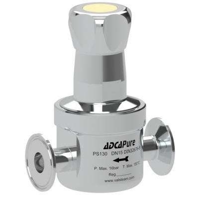 Válvula aséptica mantenedora de presión BPE DIN ISO DN08-25 PS130