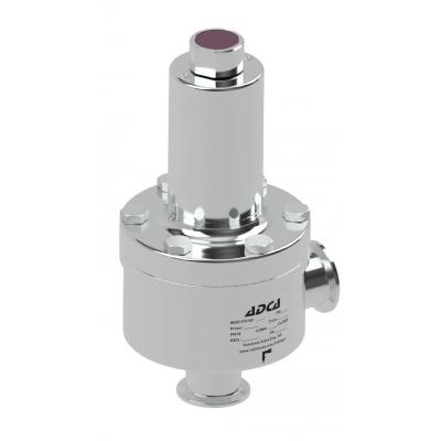 Válvula aséptica mantenedora de presión DN15-50 ASME BPE DIN ISO PS161