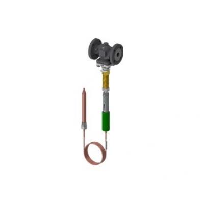 Válvula termostatica autoaccionada inoxidable DN15-25 PN40 TR40